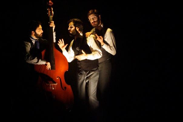Arif Mirabdolbaghi, Adam Paolozza and Viktor Lukawski photo by Lacey Creighton