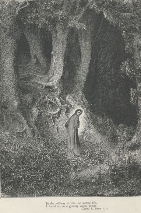 Doré's engraving of The Divine Comedy